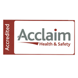 Acclaim Health & Safety Accredited